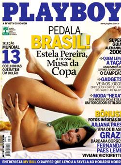 playboy 371 | Estela Pereira Musa da Copa 2006