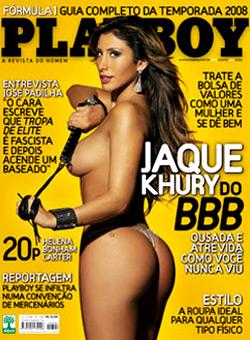 playboy 394 | Jaqueline Khury