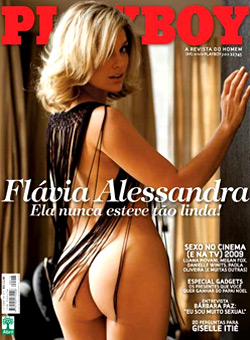 playboy 415 | Flavia Alessandra