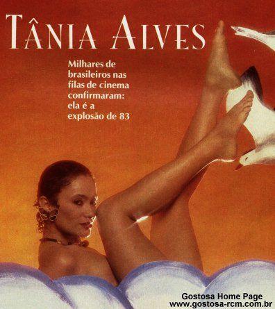 Fotos Tania Alves nua, Fotos da Tania Alves na playboy, todas as fotos pelada, playboy de dezembro de 1983