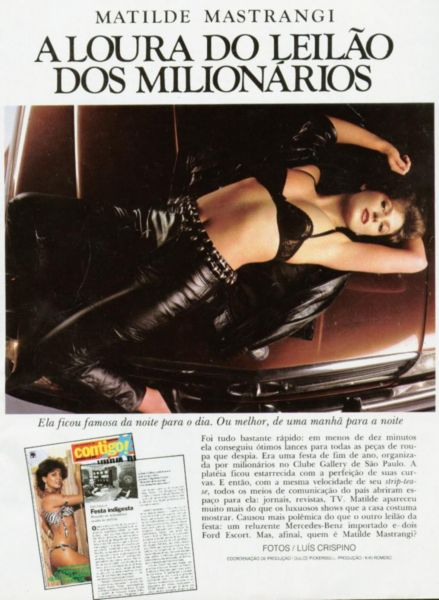 Fotos Matilde Mastrangi nua, Fotos da Matilde Mastrangi na playboy, todas as fotos pelada, playboy de fevereiro de 1984