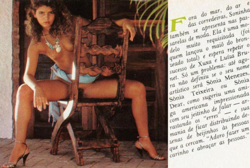 Fotos Sonia nua, Fotos da Sonia na playboy, todas as fotos pelada, playboy de junho de 1984