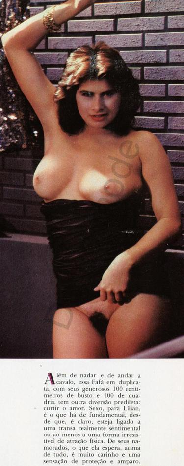 Fotos Lilian Ramos nua, Fotos da Lilian Ramos na playboy, todas as fotos pelada, playboy de outubro de 1986