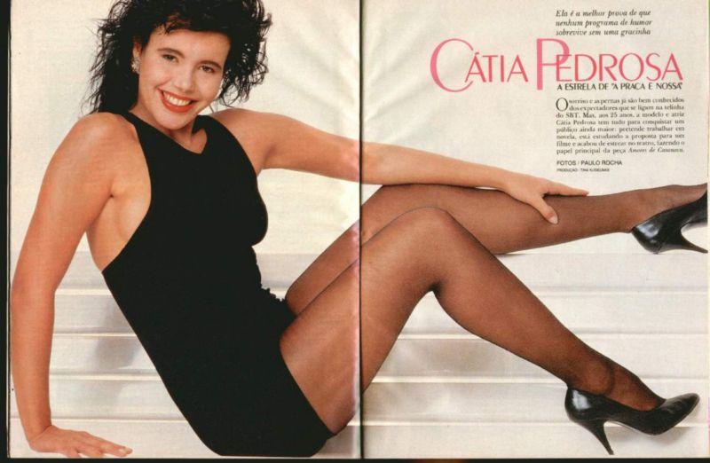 Fotos Catia Pedrosa nua, Fotos da Catia Pedrosa na playboy, todas as fotos pelada, playboy de junho de 1988
