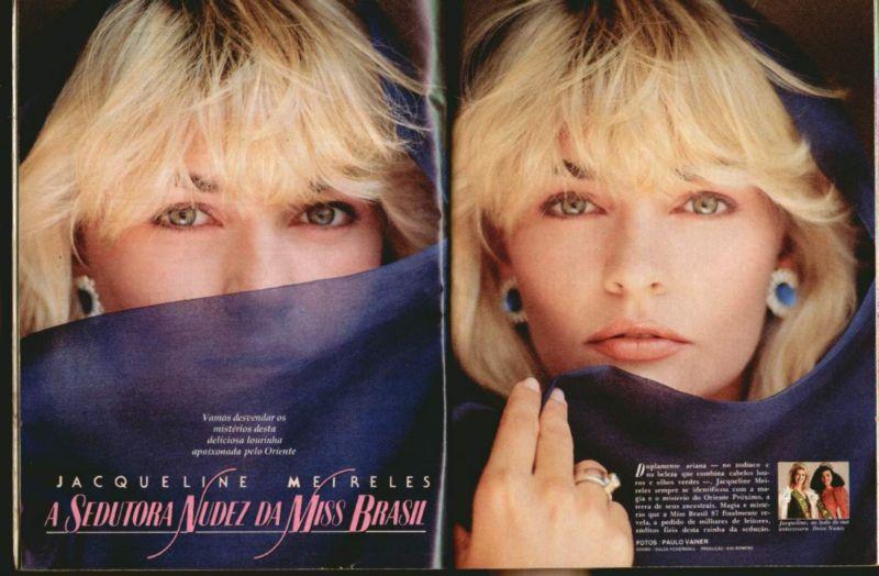 Fotos Jacqueline Meirelles nua, Fotos da Jacqueline Meirelles na playboy, todas as fotos pelada, playboy de outubro de 1988