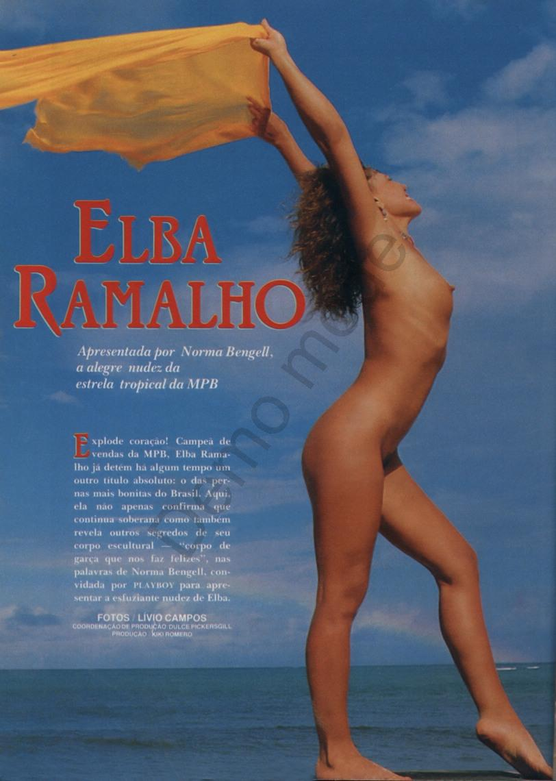 4 Fotos Elba Ramalho pelada