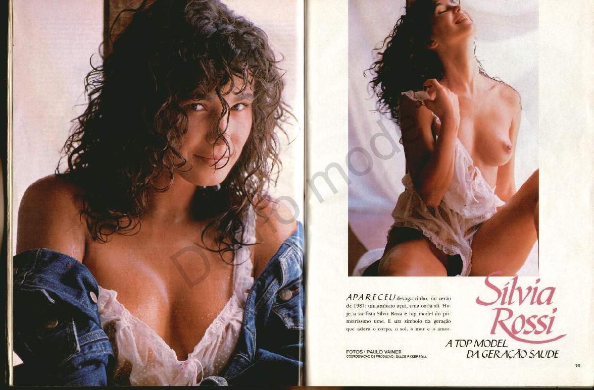 Fotos Silvia Rossi nua, Fotos da Silvia Rossi na playboy, todas as fotos pelada, playboy de março de 1989