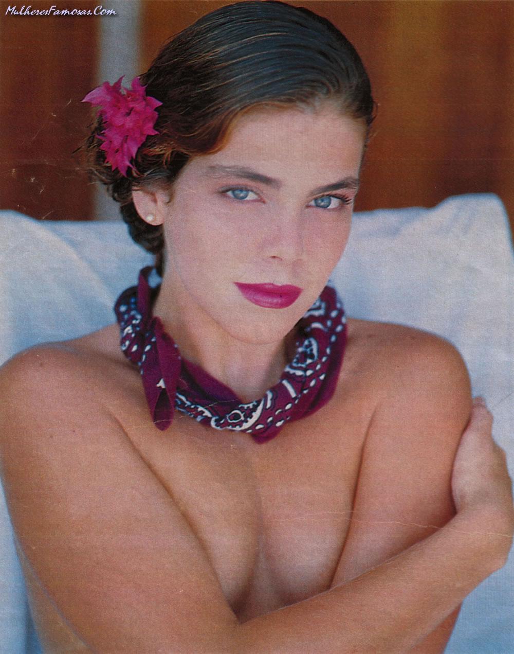 Capa da playboy de setembro  de 1989 com a Gisele Fraga