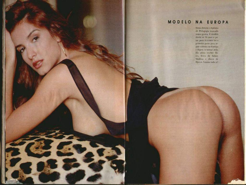 Fotos Sonia Campos nua, Fotos da Sonia Campos na playboy, todas as fotos pelada, playboy de junho de 1990