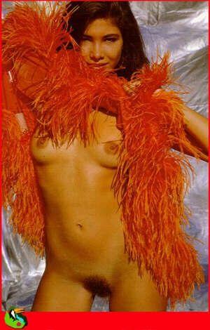 Capa da playboy de dezembro  de 1990 com a Tania Correa