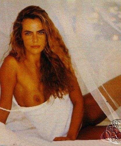 Capa da playboy de março  de 1991 com a Bruna Lombardi