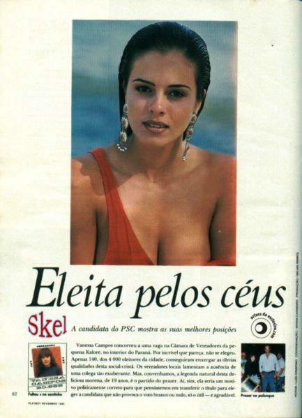 Fotos Vanessa Campos e Celene Araujo nua, Fotos da Vanessa Campos e Celene Araujo na playboy, todas as fotos pelada, playboy de novembro de 1992