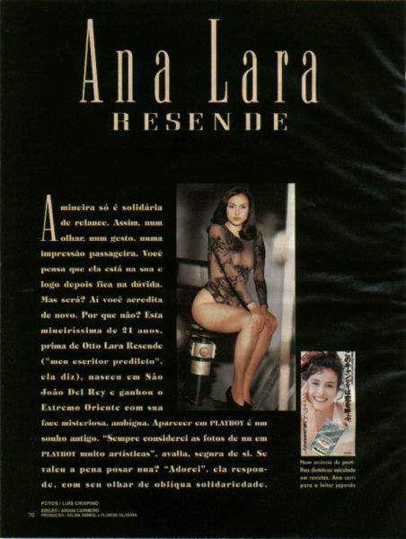 Fotos Ana Lara Resende nua, Fotos da Ana Lara Resende na playboy, todas as fotos pelada, playboy de maio de 1994