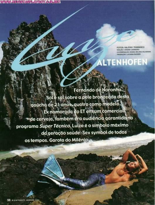 Fotos Luize Altenhofen nua, Fotos da Luize Altenhofen na playboy, todas as fotos pelada, playboy de janeiro de 2001