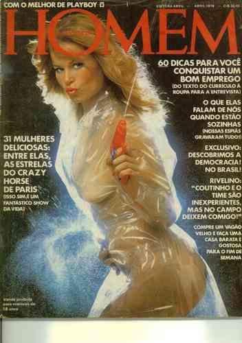 Capa da playboy de março  de 1978 com a Debra Jo Fondren