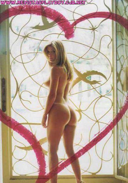 Capa da playboy de junho  de 2003 com a Viviane Bordin