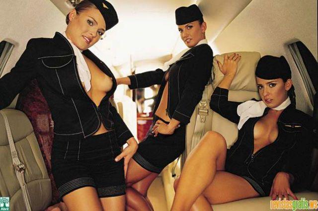 Fotos Os Avioes da Varig nua, Fotos da Os Avioes da Varig na playboy, todas as fotos pelada, playboy de setembro de 2006
