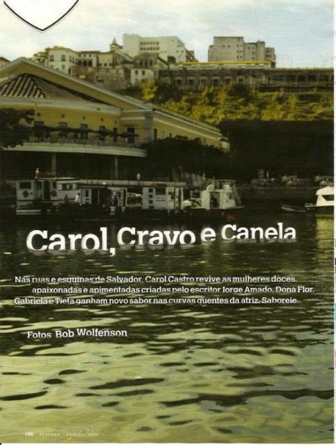 Fotos Carol Castro nua, Fotos da Carol Castro na playboy, todas as fotos pelada, playboy de agosto de 2008