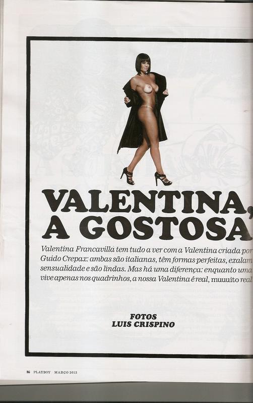 Fotos Valentina Francavilla nua, Fotos da Valentina Francavilla na playboy, todas as fotos pelada, playboy de março de 2012