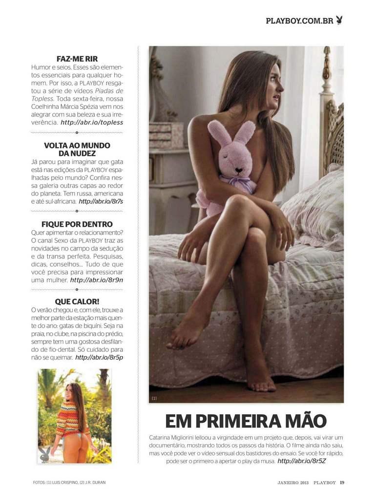Fotos Catarina a virgem nua, Fotos da Catarina a virgem na playboy, todas as fotos pelada, playboy de janeiro de 2013