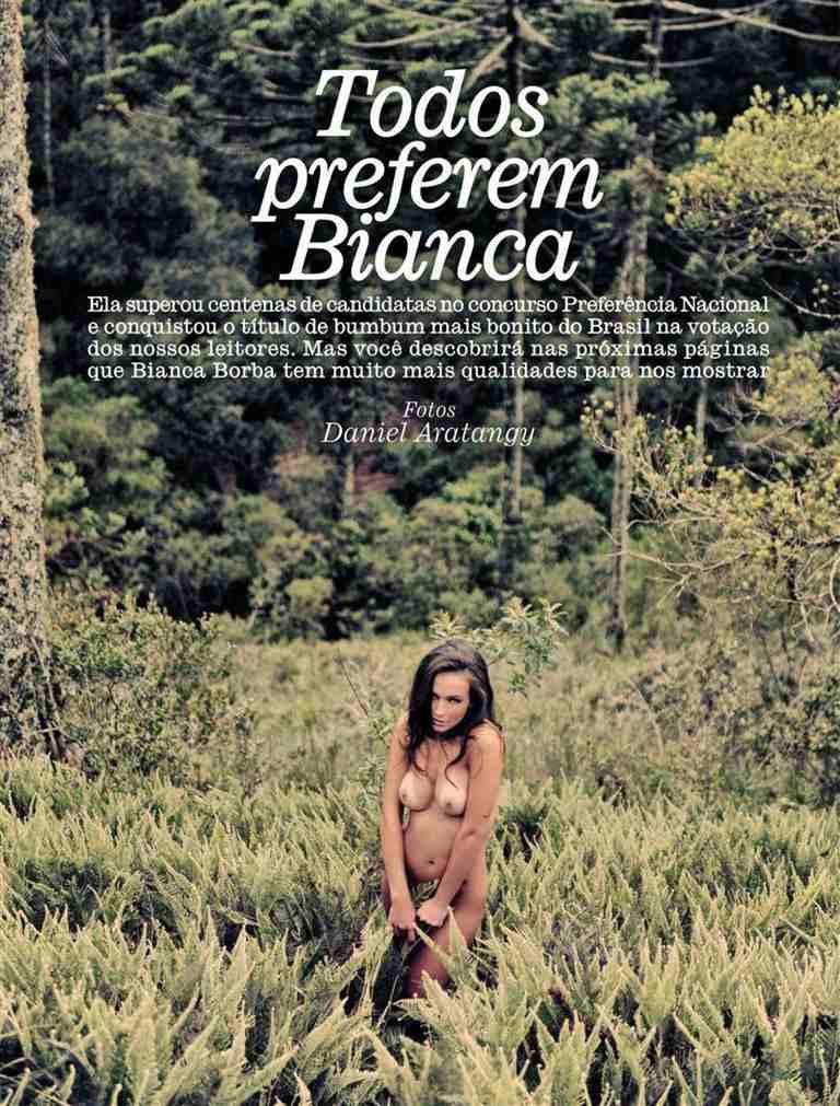 Fotos Bianca Borba nua, Fotos da Bianca Borba na playboy, todas as fotos pelada, playboy de fevereiro de 2013