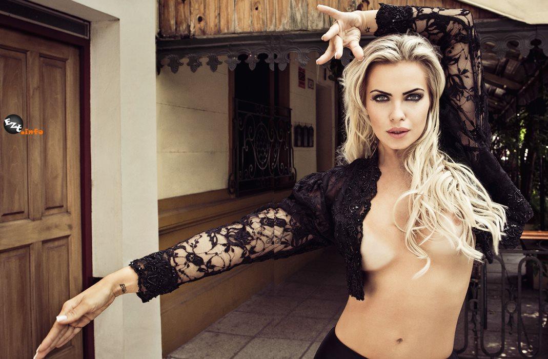 Um ensaio caliente com a modelo Vveridiana Freitas  em Buenos Aires