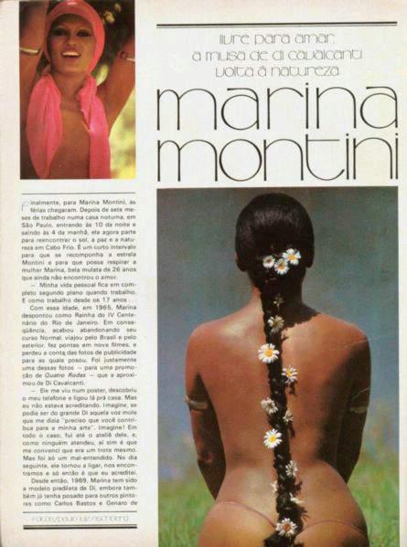 Fotos Marina Montini nua, Fotos da Marina Montini na playboy, todas as fotos pelada, playboy de fevereiro de 1976