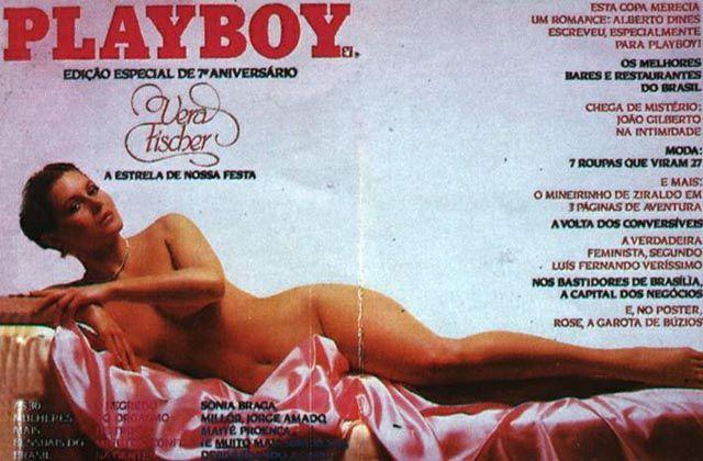 Fotos Vera Fischer nua, Fotos da Vera Fischer na playboy, todas as fotos pelada, playboy de agosto de 1982