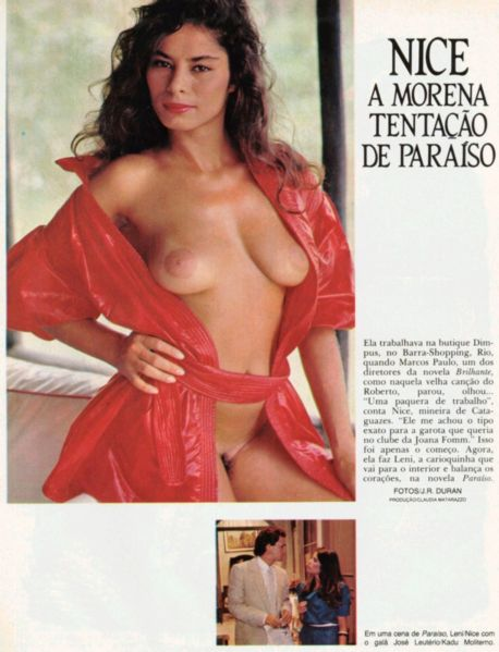 Fotos Nice Meirelles nua, Fotos da Nice Meirelles na playboy, todas as fotos pelada, playboy de fevereiro de 1983