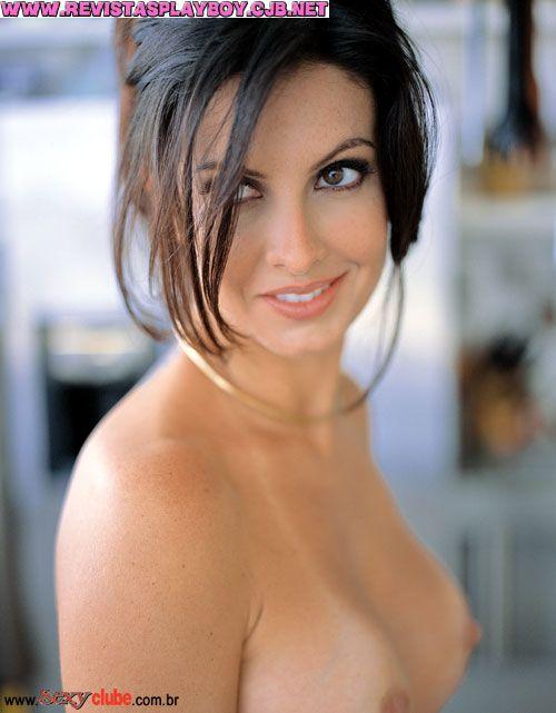 Capa da sexy de maio  de 2003 com a Andrea Guerra