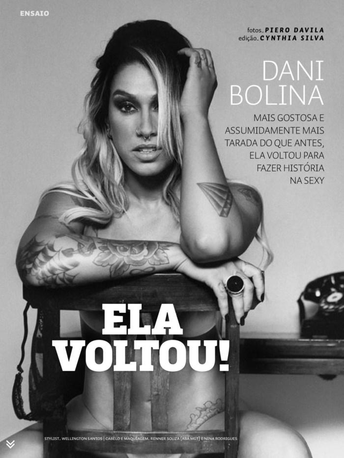 Fotos Dani Bolina nua, Fotos da Dani Bolina na sexy, todas as fotos pelada, sexy de abril de 2014