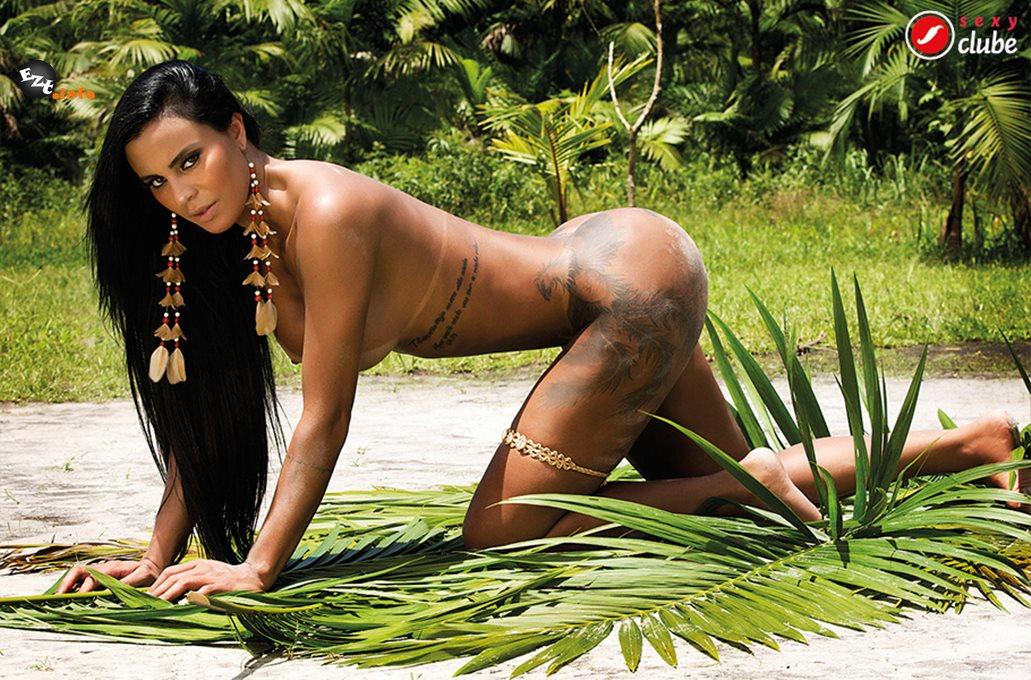 A modelo Lorena Bueri